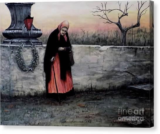 Il Monumento Canvas Print
