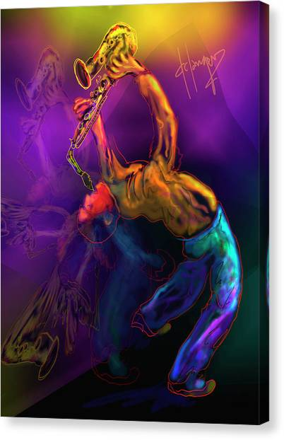 I'll Bend Over Backwards For Your Love Canvas Print
