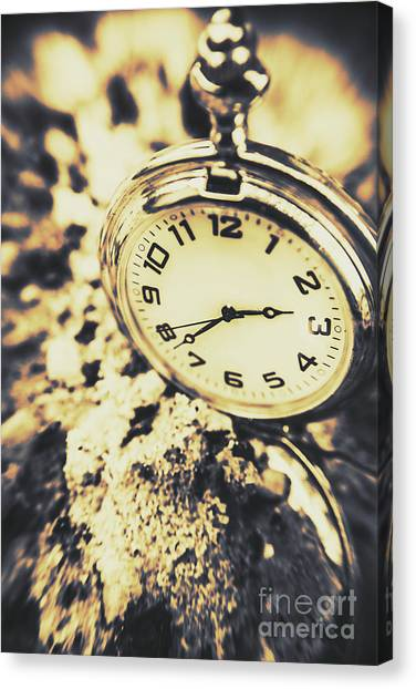 Distort Canvas Print - Illusive Time by Jorgo Photography - Wall Art Gallery