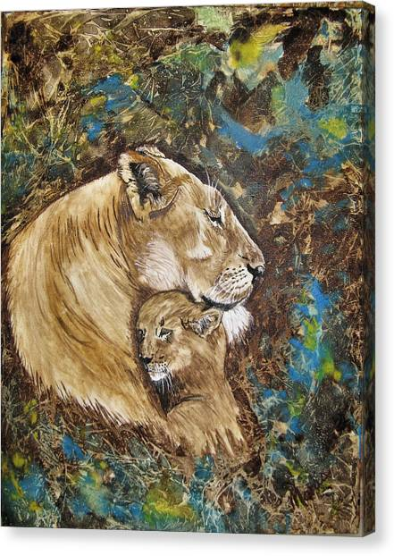 Ilsa And Sasha Canvas Print