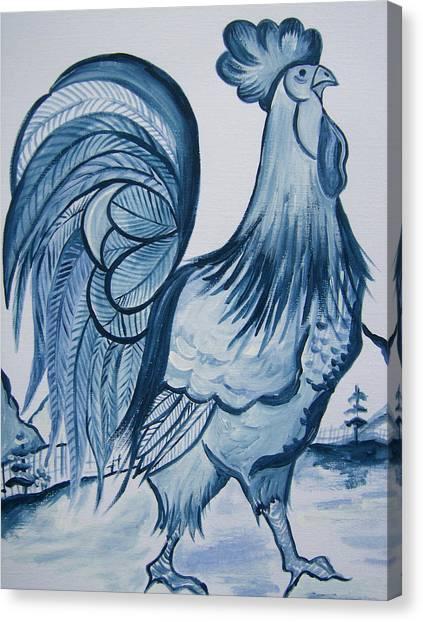 I'm So Blue Canvas Print