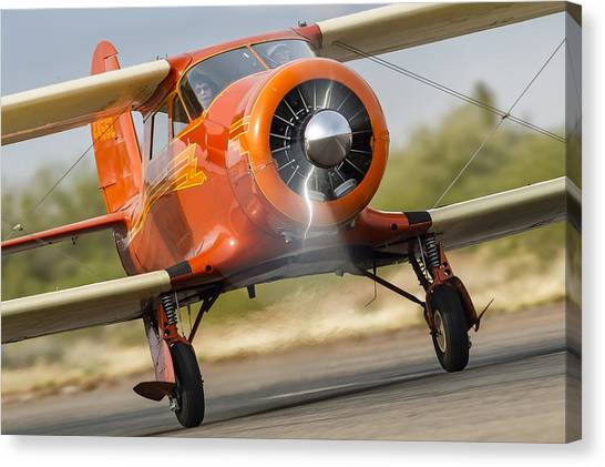 Image Of Staggerwing Proportions Canvas Print
