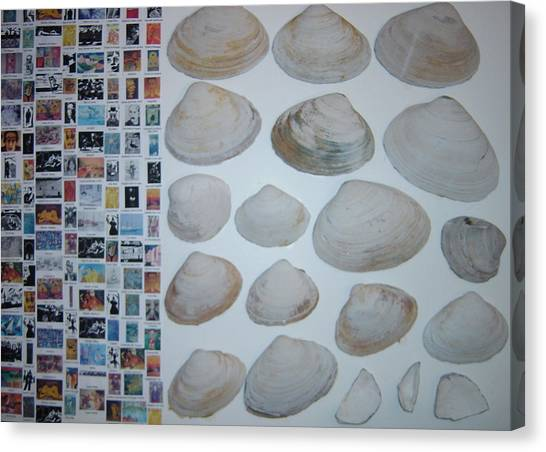 Images And Shells Canvas Print by Biagio Civale