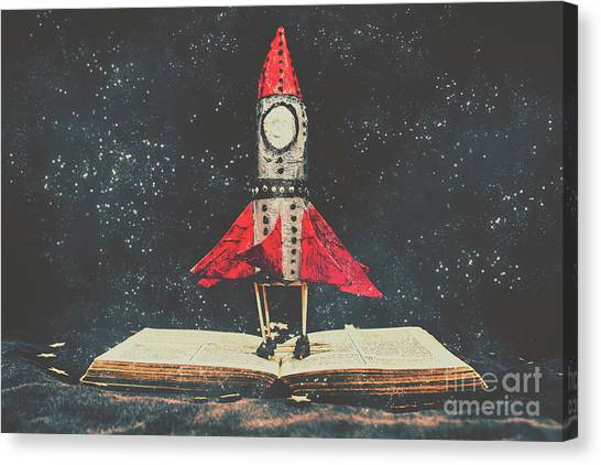 Launch Canvas Print - Imagination Is A Space Of Learning Fun by Jorgo Photography - Wall Art Gallery