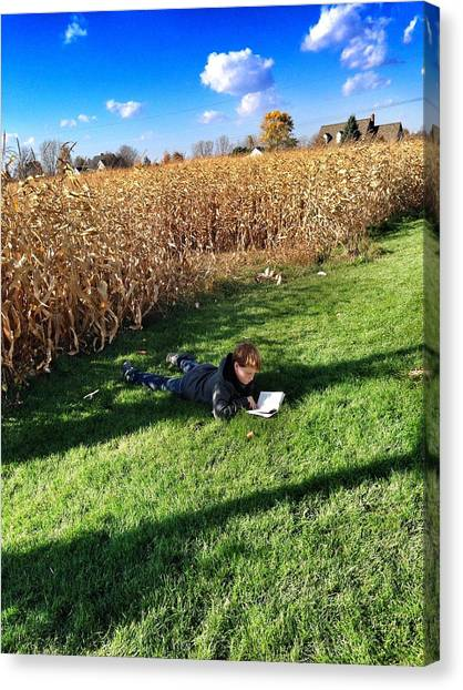 Corn Maze Canvas Print - Imagination by 2141 Photography