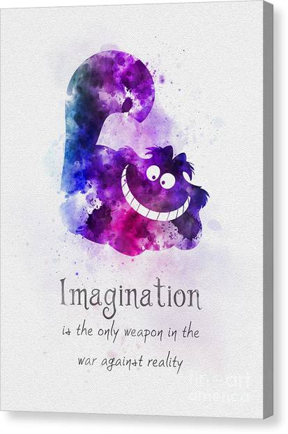 Cheshire Canvas Print - Imagination by Rebecca Jenkins