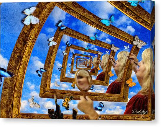 Imaginations Canvas Print