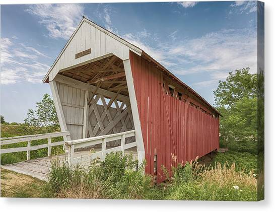 Imes Covered Bridge Canvas Print
