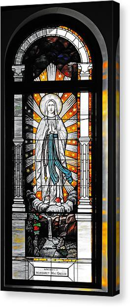 Old Town San Diego Canvas Print - Immaculate Conception San Diego by Christine Till