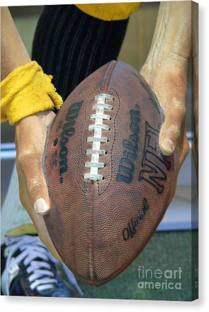 Immaculate Canvas Print - Immaculate Reception by David Bearden