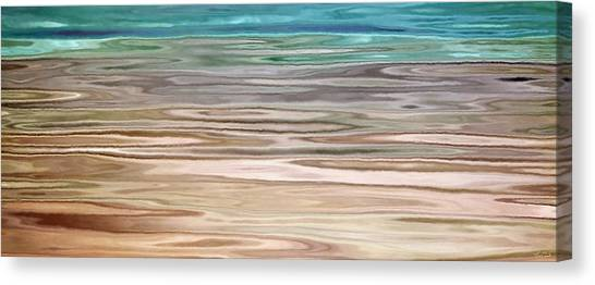 Immersed - Abstract Art Canvas Print