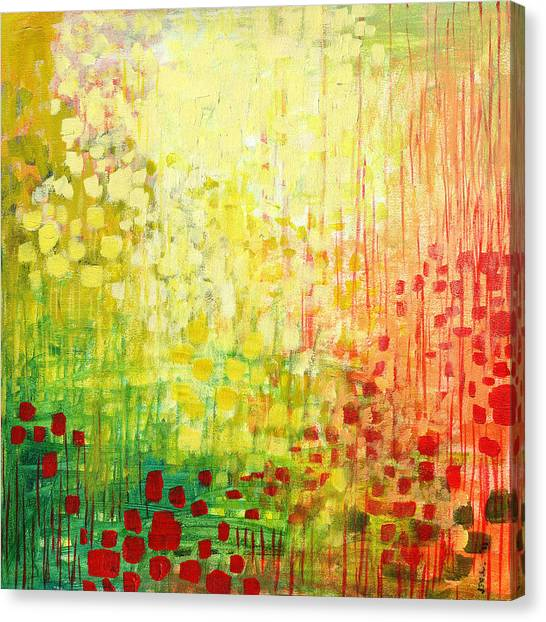 Squares Canvas Print - Immersed No 2 by Jennifer Lommers