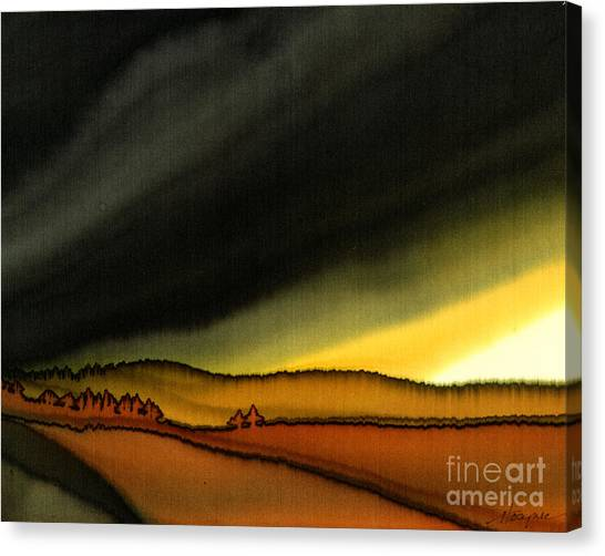 Impending Storm Canvas Print by Addie Hocynec