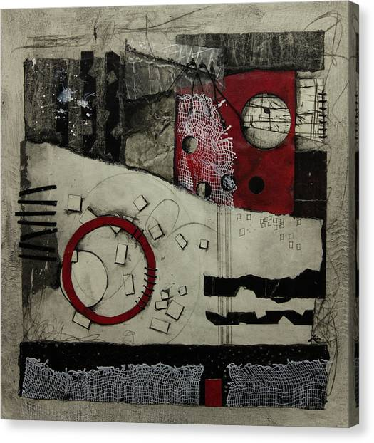 Canvas Print - Imperfect Reality  by Laura Lein-Svencner