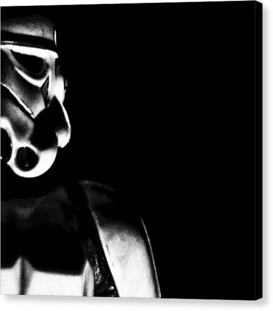 Stormtrooper Canvas Print - Imperial by Brandon Wong
