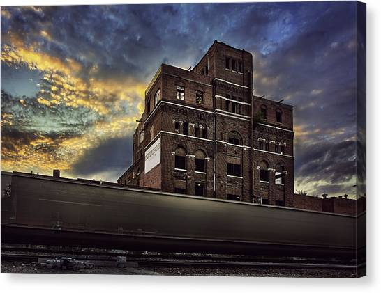 Interstates Canvas Print - Imperial Brewery by Thomas Zimmerman