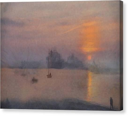Impression Solent Leviathans Canvas Print