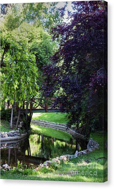 Impressionist Reminiscence  Canvas Print