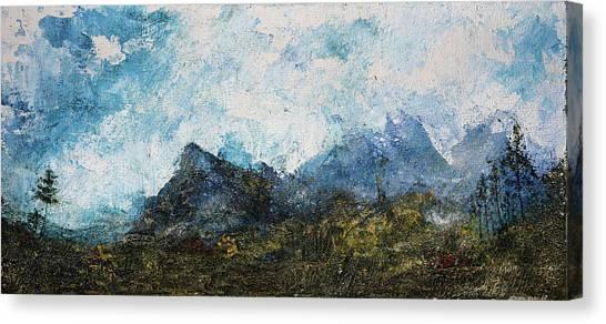 Impressionistic Landscape Canvas Print
