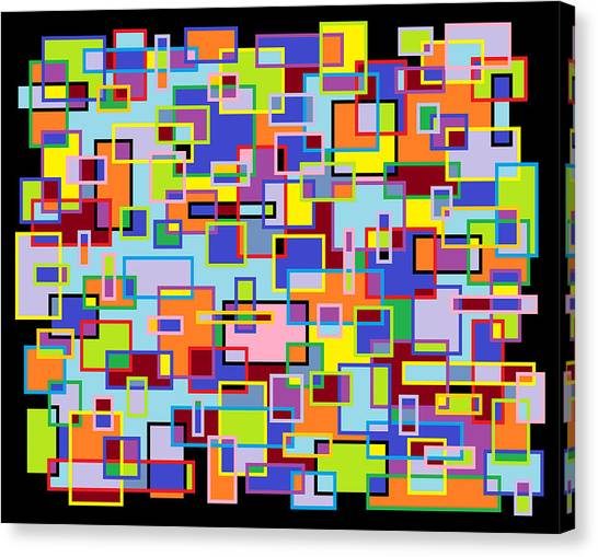 Improv 102 Canvas Print by Cynthia Friedlob