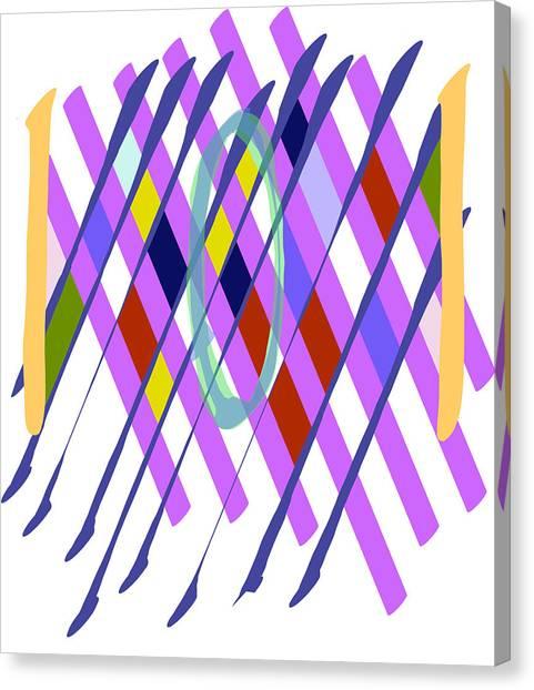 Improvised Geometry #1 Canvas Print