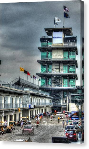 Ims Pagoda Canvas Print