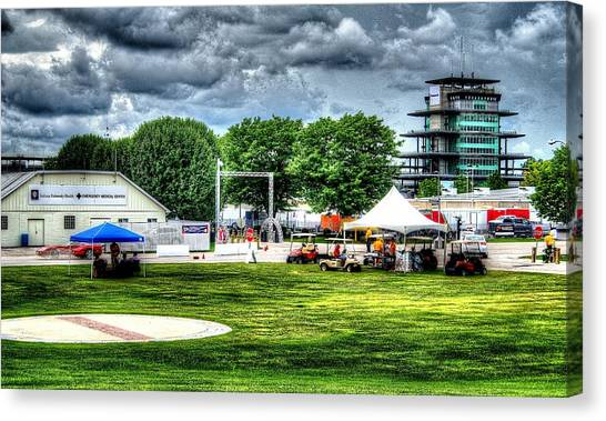 Ims Hospital  Canvas Print