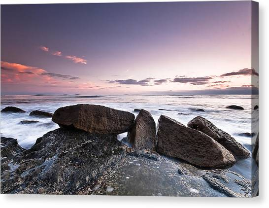In A Silent Way Canvas Print