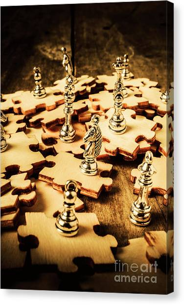 Checks Canvas Print - In Art Of Competition by Jorgo Photography - Wall Art Gallery