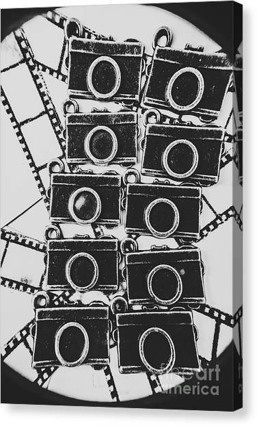 Shutter Canvas Print - In Camera Art by Jorgo Photography - Wall Art Gallery