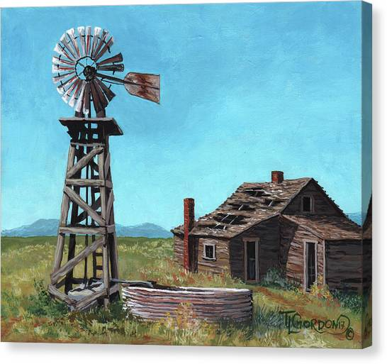 Nm Canvas Print - In Days Past by Timithy L Gordon