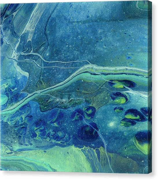 In Depths Unknown Canvas Print
