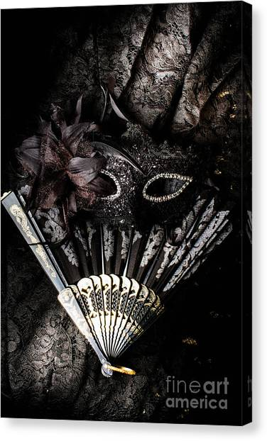 Masquerade Canvas Print - In Fashion Of Mystery And Elegance by Jorgo Photography - Wall Art Gallery