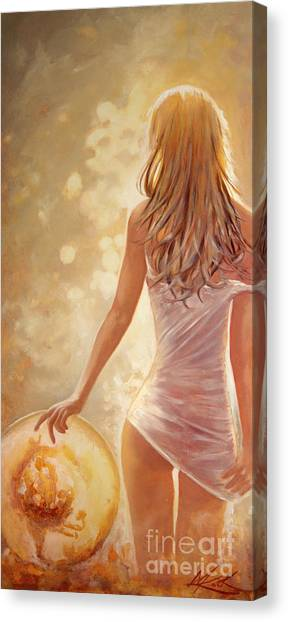 In Fields Of Summer Gold Canvas Print