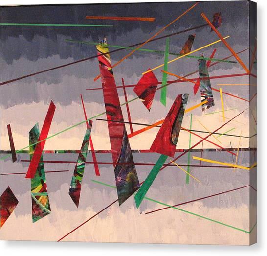 In Flight Canvas Print by Rollin Kocsis