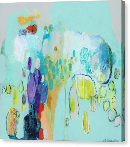 Canvas Print - In Front Of The Children 2 by Claire Desjardins