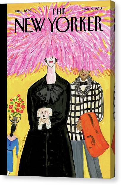 In Bloom Canvas Print - In Full Bloom by Maira Kalman