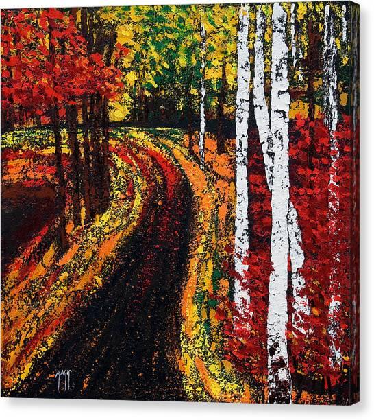 In Full Swing  Canvas Print
