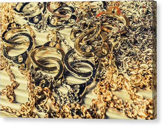 Racism Canvas Print - In Locks And Chains by Jorgo Photography - Wall Art Gallery