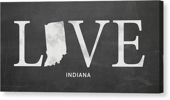 Evansville Canvas Print - In Love by Nancy Ingersoll