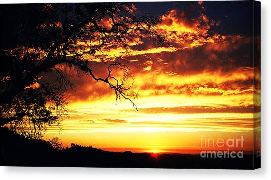 In Memory Of Canvas Print by JoAnn SkyWatcher