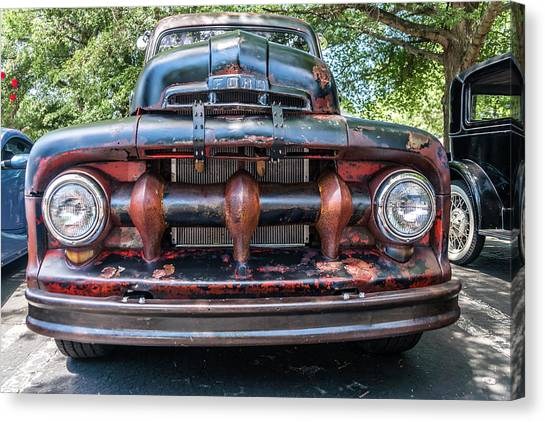Canvas Print featuring the photograph In My Grill by Michael Sussman