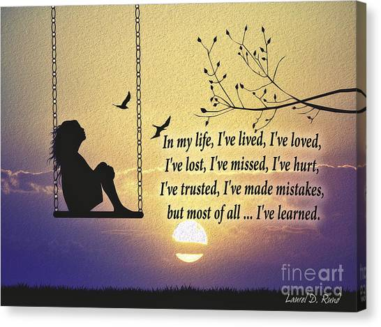 In My Life Canvas Print