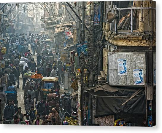 In Pursuit Of A Living Canvas Print by Prateek Dubey