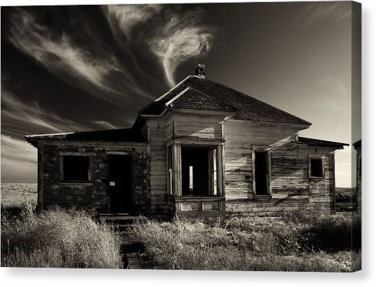 Derelict Canvas Print - In Ruin by Mike  Dawson