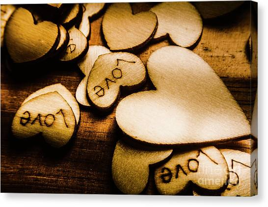 Heart Shape Canvas Print - In Sentiment Of Contrasts by Jorgo Photography - Wall Art Gallery