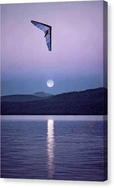 In The Air Tonight Canvas Print