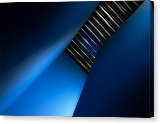 Ceiling Canvas Print - In The Blues by Gilbert Claes