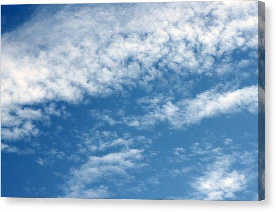 Canvas Print - In The Clouds by Evelyn Patrick