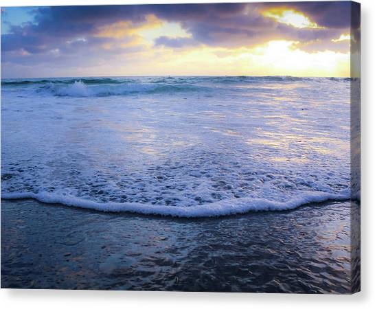 Canvas Print featuring the photograph In The Evening by Alison Frank